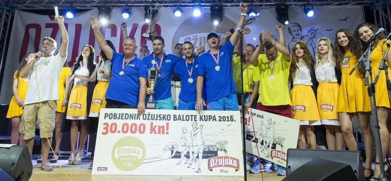 Ekipa Ribola pobjednici jubilarnog petog finala Ozujsko Balota 2016.