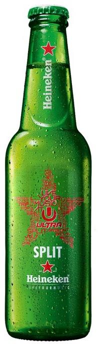 Heineken Ultra bottle
