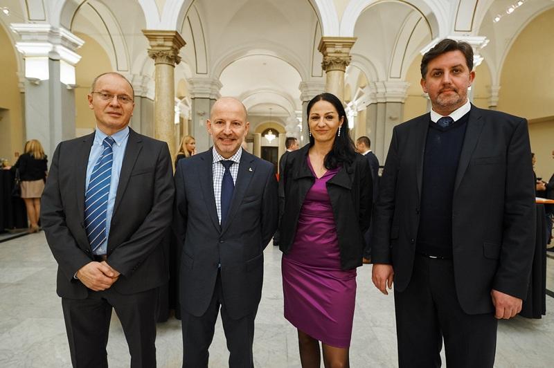 Igor Velimirovic, Wolfgang Einer, Tanja Plankl, Boris Brkovic