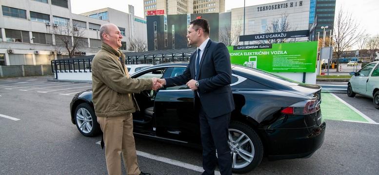 Kresimir KOvac i DAnijel Dugicdirektor marketinga KOnzuma