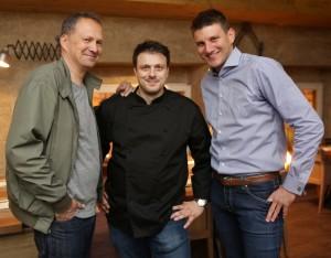 Tomo Ricov, Mate Janković, Ivan Artuković