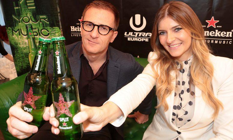 Ultra Europe na Heineken boci - R.Giugliano i A.Palac