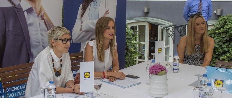 Voditeljica Sektora ljudskih resursa Romina Ivancic i voditeljica Odjela odnosa s javnoscu Lana Jugo