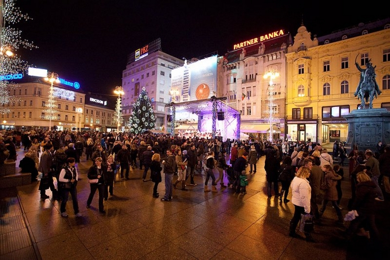 Zagreb Trg bana Jelačića