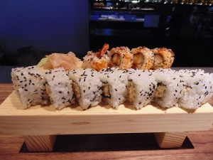 sushi s kozicama